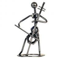 Cellist sitzend
