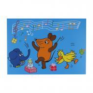 """Postkarte Geburtstagsständchen """"Die Maus"""""""