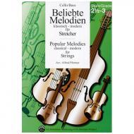 Beliebte Melodien: klassisch bis modern Band 4 – Violoncello/Kontrabass
