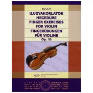 Bloch, J.: Fingerübungen Op.16