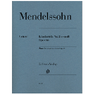 Mendelssohn Bartholdy, F.: Klaviertrio Nr. 2 Op. 66 c-moll