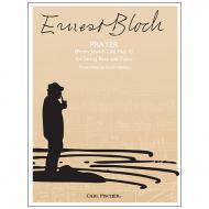 Bloch, E.: Prayer (Nr. 1 aus »Jewish Life«)