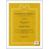 Fesch, W. d.: Sonate G-Dur