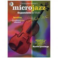Norton, C.: Microjazz Expansions for Violin (+CD)