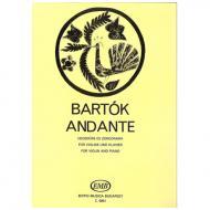 Bartók, B.: Andante