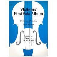 Perlman, G.: Violinists' first Solo Album Vol. 1