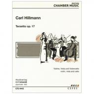 Hillmann, C.: Terzetto Op. 17