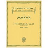Mazas, J. F.: Twelve Little Duets Op. 38 Band 1 & 2