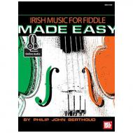 Berthoud, P. J.: Irish Music For Fiddle Made Easy (+Online Audio)