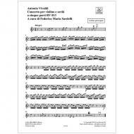 Vivaldi, A.: Concerto per violono e archi a cinque parti RV 818
