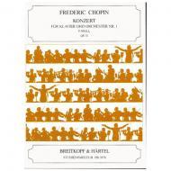 Chopin, F.: Klavierkonzert Nr. 2 f-Moll Op. 21