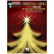 Christmas Carols for Cello — 10 Holiday Favorites (+OnlineAudio)