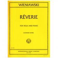 Wieniawski, H.: Reverie