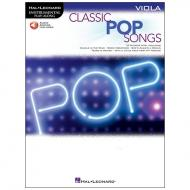 Classic Pop Songs for Viola (+Online Audio)