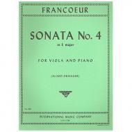 Francoeur, F.: Violasonate Nr. 4 E-Dur