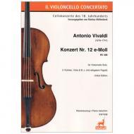 Vivaldi, A.: Konzert Nr. 12 RV 409 e-Moll