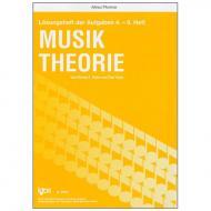 Peters / Yoder: Lösungsheft zur Musiktheorie für Bände 4 - 6