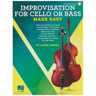 Gabriel, L.: Improvisation for Cello or Bass Made Easy (+ Online Audio)