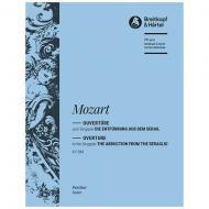 Mozart, W. A.: Die Entführung aus dem Serail KV 384 – Ouvertüre zum Singspiel