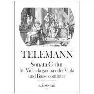 Telemann, G. Ph.: Sonate G-Dur aus »Der Getreue Musikmeister«