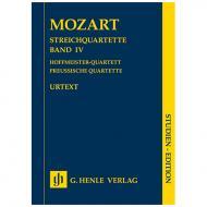 Mozart, W. A.: Streichquartette Band IV – Partitur