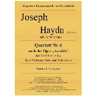 Haydn, J.: Quartett Nr. 6 nach der Oper »Armida«