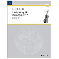 Kreisler, F.: Londonderry Air - Altirisches Lied