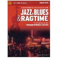 Jazz Blues And Ragtime – Complete Edition (+ Online Audio)