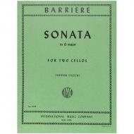 Barriere, J.-B.: Sonate G-Dur
