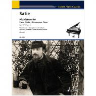 Satie, E.: Klavierwerke Band 3