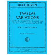 Beethoven, L. van: Twelve Variations