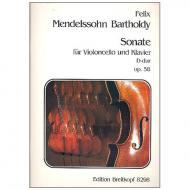 Mendelssohn Bartholdy, F.: Sonate Nr. 2 Op. 58 D-Dur