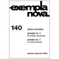 Schnittke, A.: Violinsonate Nr. 1