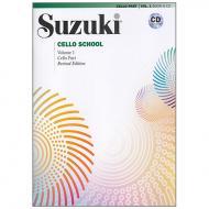 Suzuki Cello School Vol.1 (+CD)