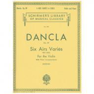 Dancla, J. B. Ch.: 6 Airs Variés Op. 89