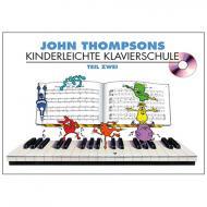 Thompson, J.: Kinderleichte Klavierschule Band 2 (+CD)