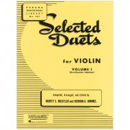 Selected Duets for Violin Vol. 1