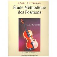 Hauchard, M.: Étude méthodique des positions Band 1