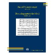Mauersberger, R.: Streichquartett fis-Moll RMWV 449 (1918/19)