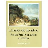 Kontski, Ch. d.: Streichquartett Nr. 1 D-Dur