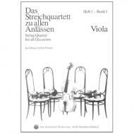 Das Streichquartett zu allen Anlässen Band 1 – Viola