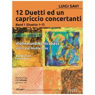 Savi, L.: 12 Duetti ed un capriccio concertanti Band 1 (Duetto 1-7)