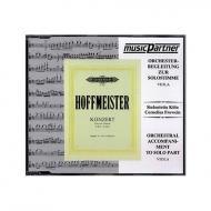 Hoffmeister, F. A.: Violakonzert D-Dur Compact-Disc CD