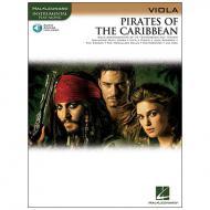 Badelt, K.: Pirates of the Caribbean (+Online Audio)