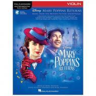 Disney Mary Poppins Returns — Violin Play Along (+Online Audio)