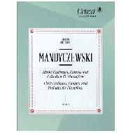 Mandyczewski, E.: Kleine Kadenzen, Kanons und Präludien für Pianoforte