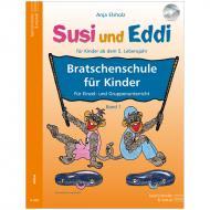 Elsholz, A.: Susi und Eddi – Bratschenschule Band 1 (+CD)