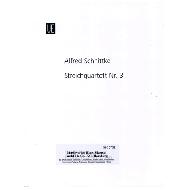 Schnittke, A.: Streichquartett Nr. 3