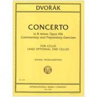 Dvořák, A.: Violoncellokonzert Op. 104 h-Moll – vorbereitende Studien