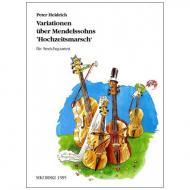 Heidrich, P.: Variationen über Mendelssohns Hochzeitsmarsch